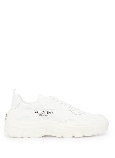 Valentino Garavani Valentino Garavani Gumboy  Logolu Kadın Sneaker 101547326 Beyaz